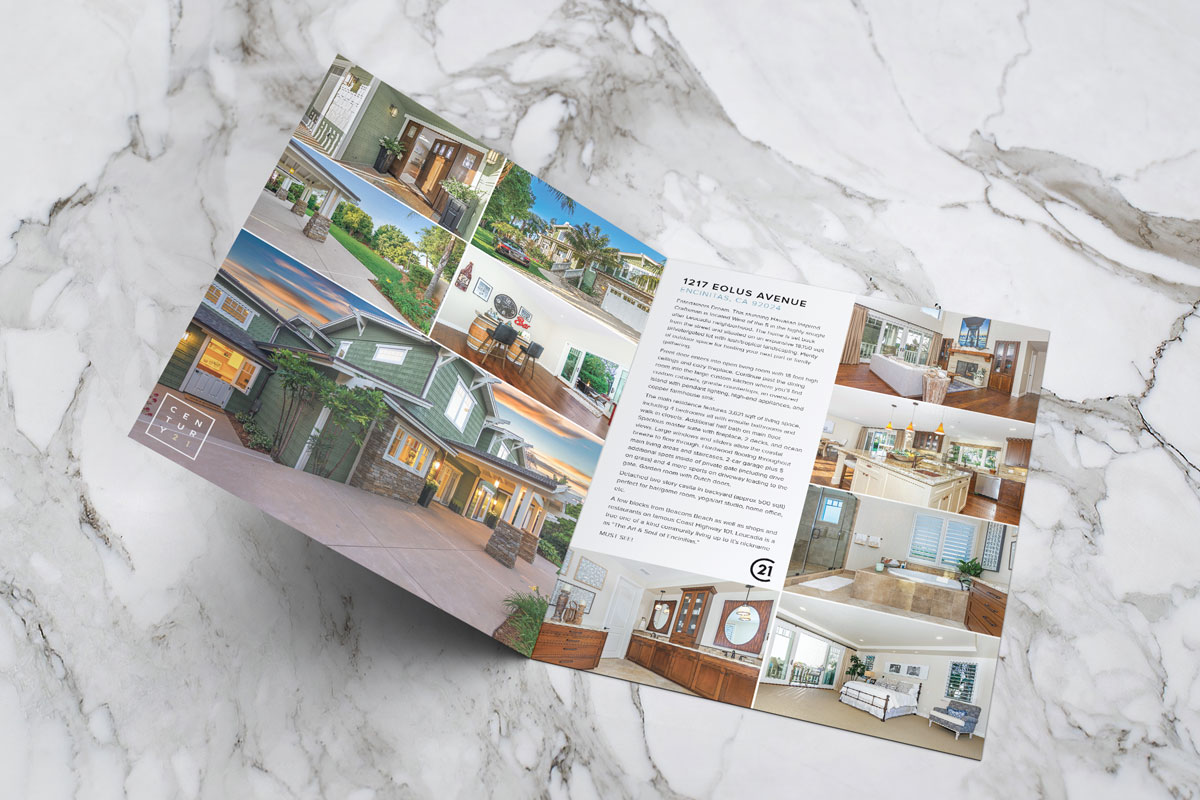 At Home San Diego Property Brochure – Ryan Phebus Design